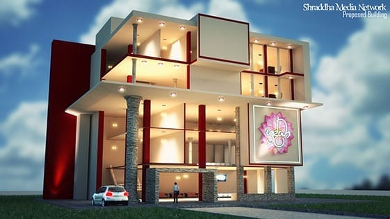 Proposed Building Shraddha Media Network image 1