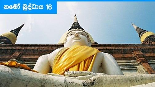 Namo Buddhaya 16
