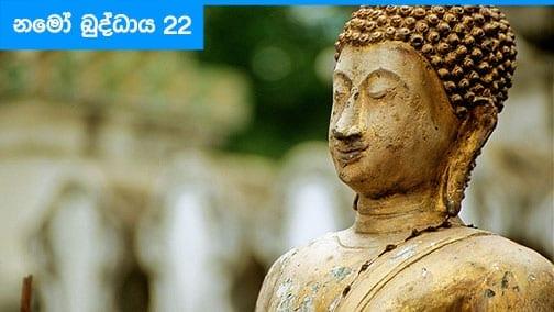 Namo Buddhaya 22