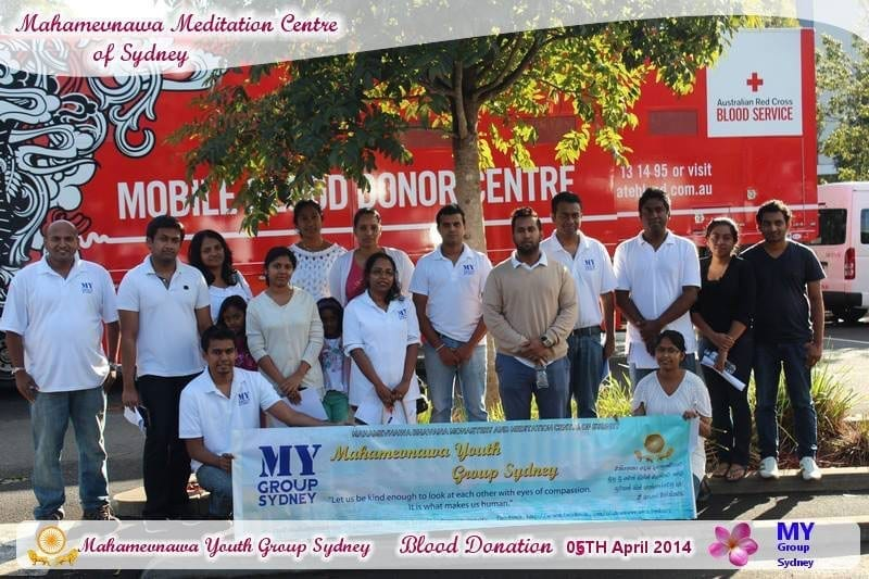 Blood Donation - Mahamevnawa Sydney