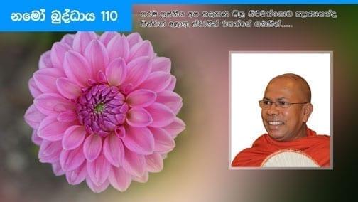 Namo Buddhaya 110 | නමෝ බුද්ධාය 110