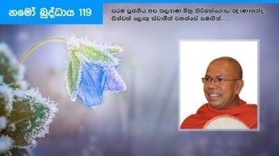 Namo Buddhaya 119 shraddha tv buddhist