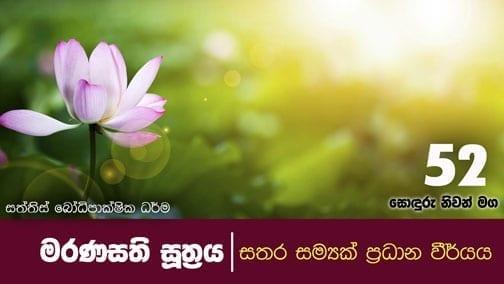 sonduru nivanmaga 52 shraddha tv buddhist