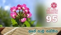 Learning Pali language 95 shraddha tv buddhist