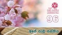 Learning Pali language 96 shraddha tv buddhist