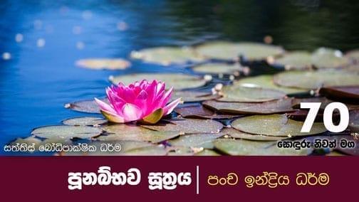 sonduru nivanmaga 70 shraddha tv buddhist