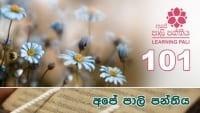 Learning Pali language 101 shraddha tv buddhist
