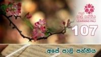 Learning Pali language 107 Shraddha tv buddhist