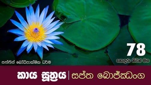 sonduru nivanmaga 78 Shraddha tv buddhist