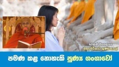 පමණ කළ නොහැකි පුණ්ය ගංගාවෝ Shraddha TV Buddhist