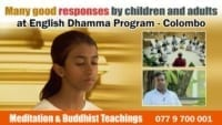 English dhamma program